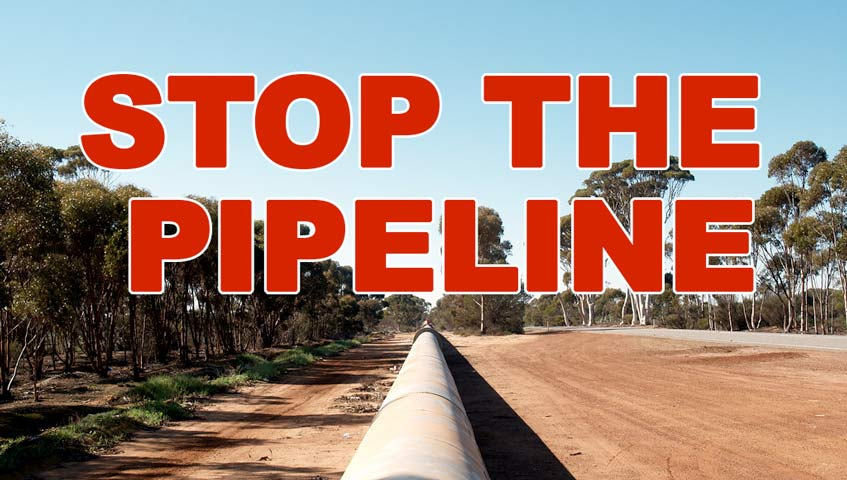 Stop the Pipeline poster