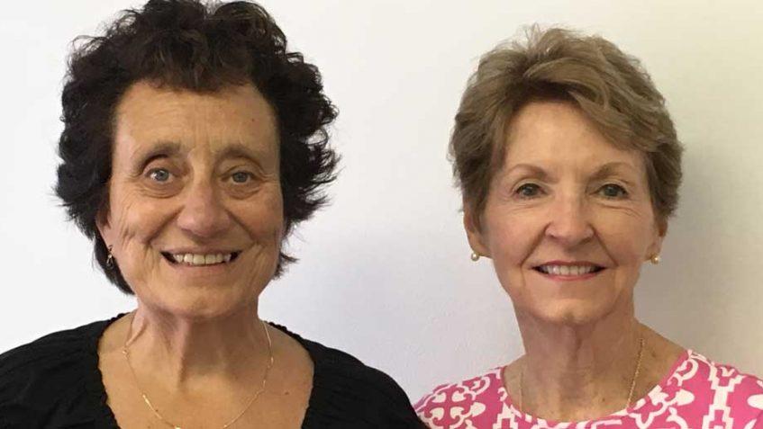 Maryann Ronan-Lamson and Linda New Levine- Democrats of Indian River