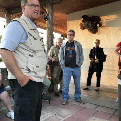 Democratic Club goes on a ghost tour of Vero Beach.