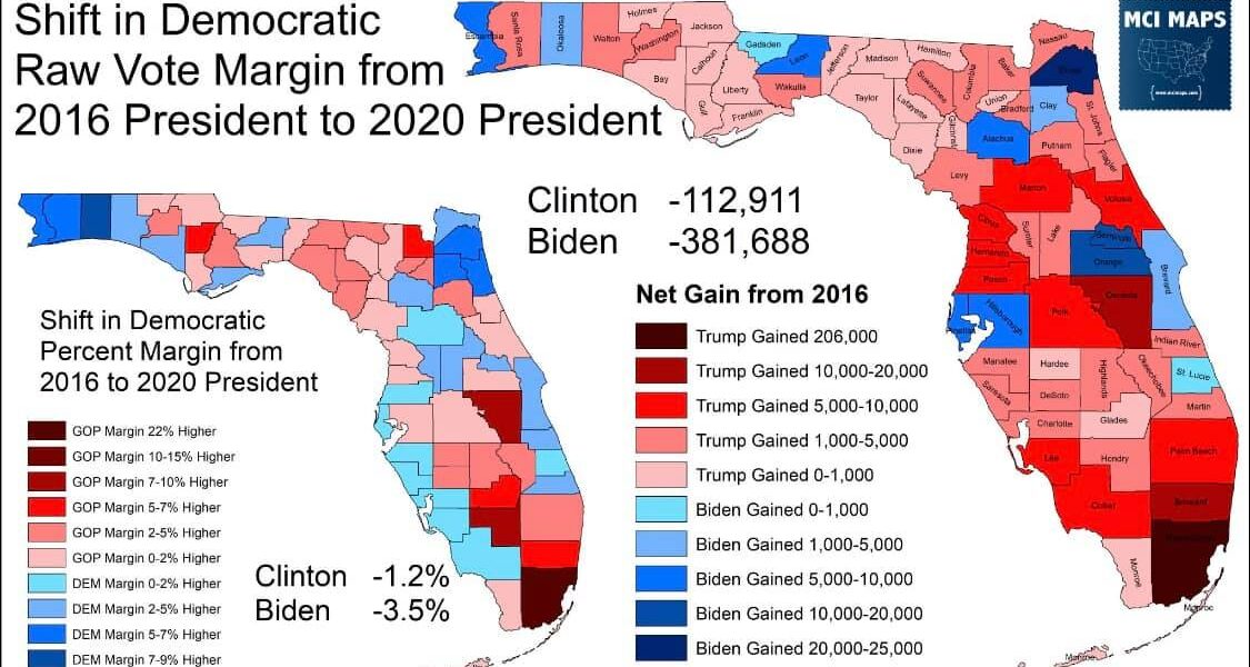 While Biden Lost Florida, IRC Made Democratic Gains*